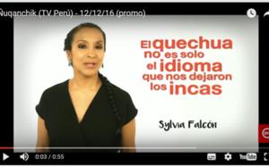 Ñoqanchik: the first news programme in Quechua in Peru