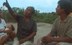 Inhabitants of the Amazon talk about the time of the day with signs